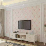 Entertainment Simple Emboss PVC removable wall coverings photo wallpaper