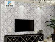 Luxury 3d embossed decoration non woven wallpaper