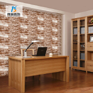Hot sale colorful 3d brick wall sticker