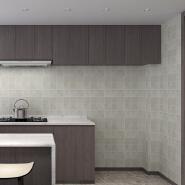roll 0.45*50m waterproof pvc wallpaper vinyl film wallpaper kitchen wall paper home decoration