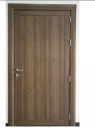 Hot Sale Wpc assembly door 250-35mm style and middle part big door leaf 35 mm Saudi Arabia