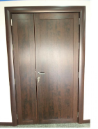 Hot Sale Wpc assembly door can cutting and install different size different color by customers