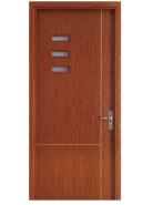 WPC Door Plastic Door Eco -friendly wood & plastic composite door lowest price modern design