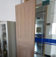Wpc assembly door can cutting and install different size by customers hot sell in middle east country