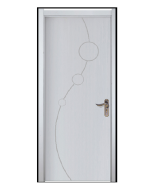Europe style interior product fire rated door wpc door in huangshan