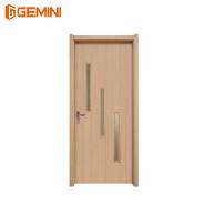 stylish design dubai WPC door bathroom wood door design