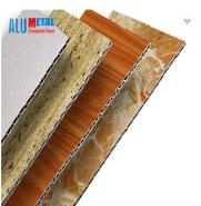 China unbreakable galvanized aluminum composite sheet metal 3d decorative wall panel / aluminum composite panel