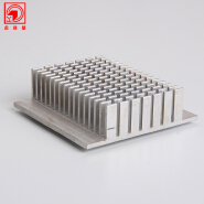 Yonglijian Aluminum Heat Sink Plate , Aluminum Heat Sink Extrusions For Power Amplifier