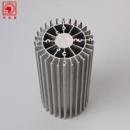 Yonglijian Wholesale Design Factory Price Round Heatsink Aluminum Extrusion Factory