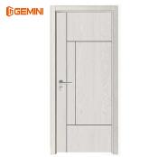 Good quality PVC coat WPC interior room door wood doors polish color