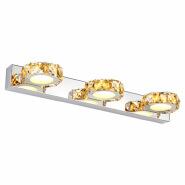 K9 Crystal Led Stainless Steel Bathroom Wash Basin Mirror LED Light