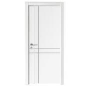 China wooden door wpc waterproof bathroom door