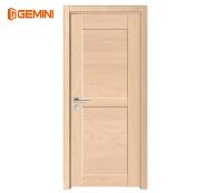 Waterproof wpc interior door veneer laminated wooden swing door