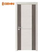Factory wholesale wpc panel modern interior door pvc toilet door