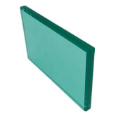 float coloured black frosted 10.38mm curved tempered and pvb laminated glass price FOB Refer