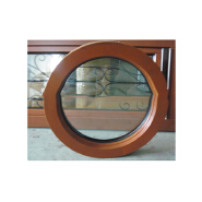 Solid Wood Profile Fixed Round window