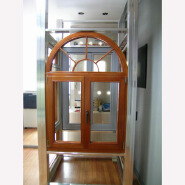 Classical Style Arched Wood Window