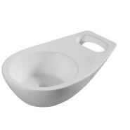 HY-5042 elegant design ceramic pedicure basin
