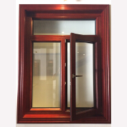 Fashion aluminum claded wood cheap tilt and turn window prices with arched design