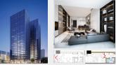 Changsha New Landmark  New Milestone International Trade Center  Sample House