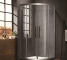 Cheap price of 6mm glass bathroom shower room price EHA10