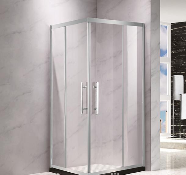 Cheap price of 6mm glass bathroom shower room price EHA12