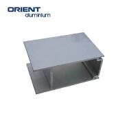 hot sales customized shape black or silver aluminium extrusion anodize profile 6075