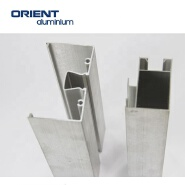 hot sales silver anodized customized shape aluminium extrusion frame for solar panel 6078