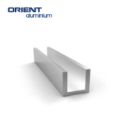 hot sales silver anodized customized shape aluminium extrusion frame for solar panel 6077