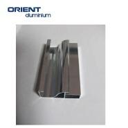hot sales customized shape black or silver aluminium extrusion anodize profile 6073