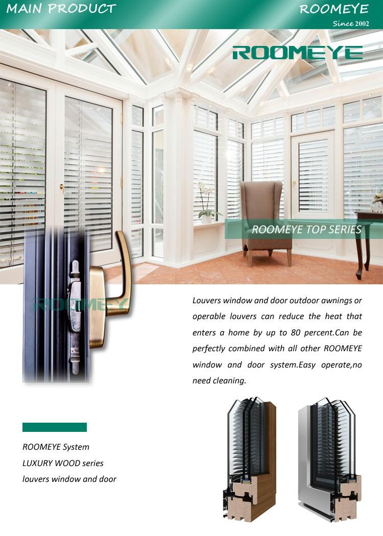 Wood Aluminum Germany System Classic Sunroom