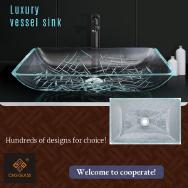 Guangzhou C&G Glass Ware Products Co., Ltd. Bathroom Basins