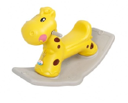 Deer style baby cheap plastic rocking horse toys with EN71 TUV
