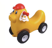 Rocking horse series Mimi dog car for children plastic car