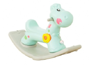 Deer cheap colorful kids plastic rocking horse with EN71 TUV