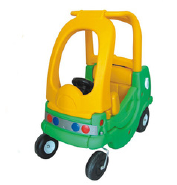 Double kids patrol car of the plastic car for children