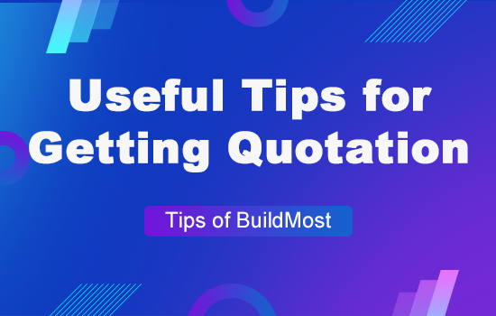 How to get quotations efficiently from BuildMost