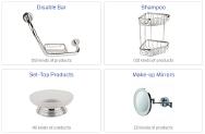 Ekinoks Celik Metal San.ve Tic. Ltd.Sti. Bathroom Accessories