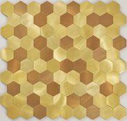 Aluminium plastic self -adhesive tile