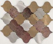 Aluminium- plastic self-adhesive tile