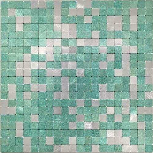 Aluminium-plastic-self adhesive tile