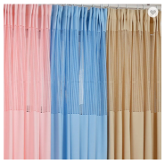 Factory supplier hospital bed partition curtains medical clinic hospital partition curtains