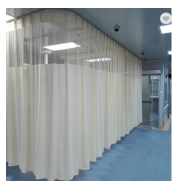 Durable bed curtains anti-bacterial hospital curtains