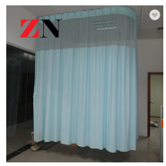 Cheap Hospital Ward Privacy Curtains With polyester Mesh