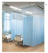 Fire retardant medical clinic anti-bacterial hospital curtains