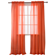 2019 Nice Cheap Transparent Voile Curtain Rod Pocket Living Room Tulle Sheer Curtain