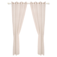 Beautiful elegant Polyester Linen Pure Gauze Curtain Sheer