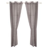 Wholesale Solid Linen Kitchen Voile Curtain For Bedroom Window
