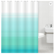 Best bathroom hookless shower curtain