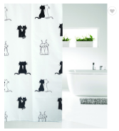 2017 custom printed shower curtains